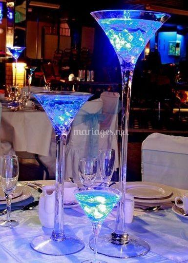 Vase martini tendance