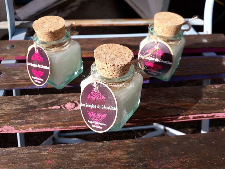 Mini-Bocaux carrés 40 ml