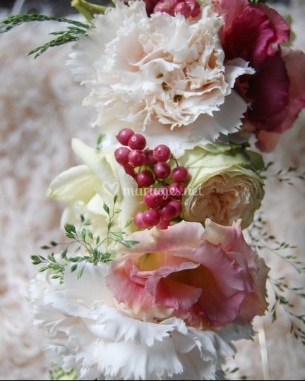 Domitille / Couronne de fleurs