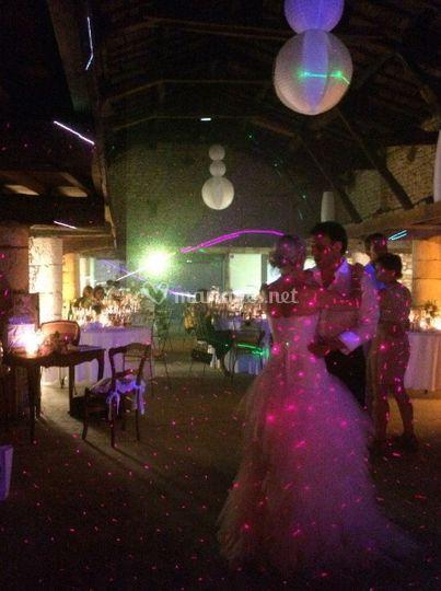 Les espaces pour les mariages