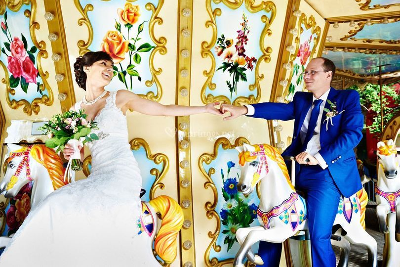 Mariage théme fête foraine