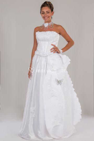 Robe printemps blanche