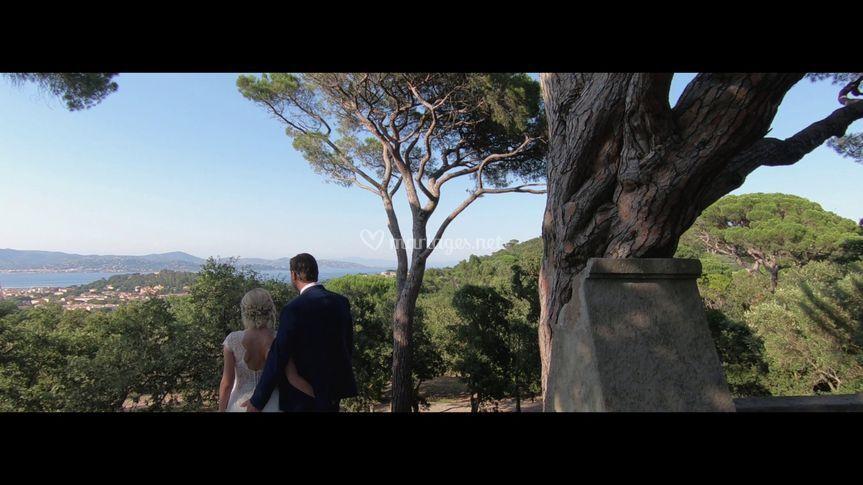 Mariage H&S à Saint-Tropez