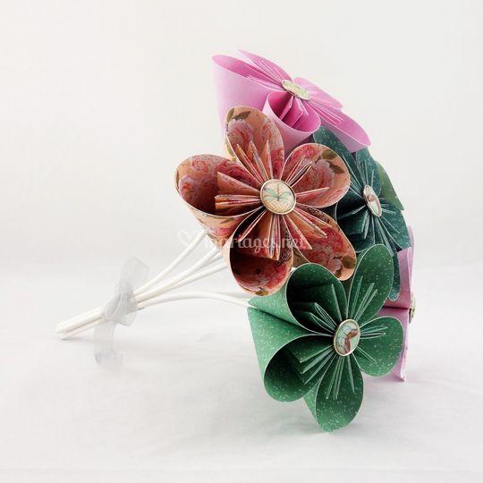 Bouquet à lancer mariage
