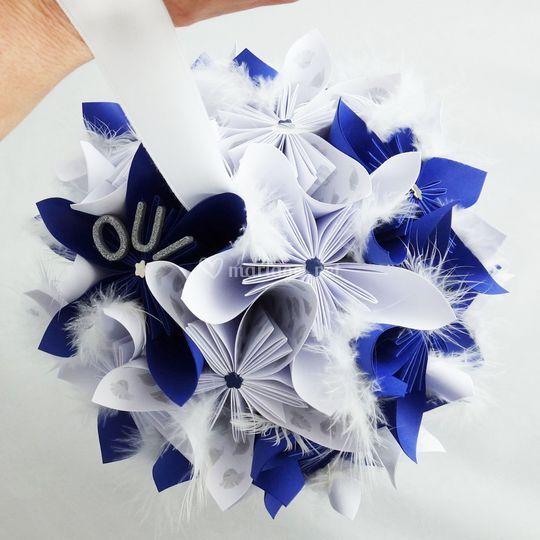 Bouquet mariee boule