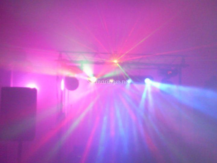 Effet jeux de lumière