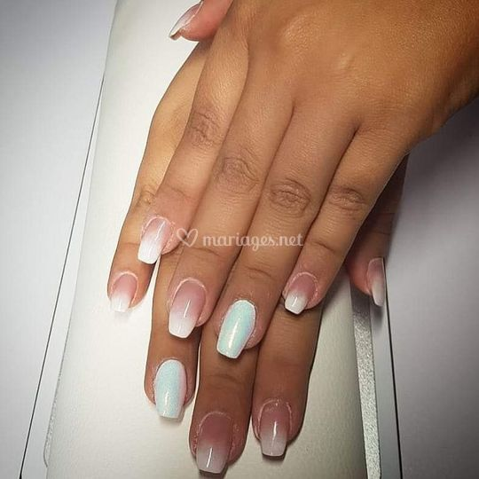 Pose complète ongles