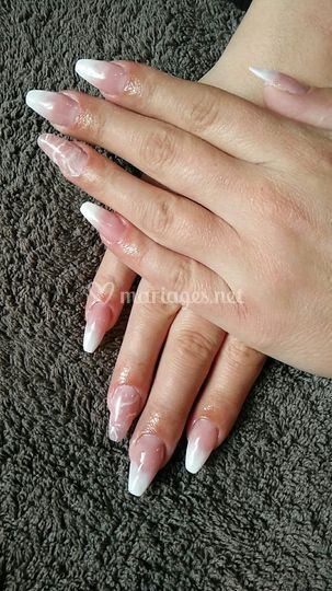 Pose complète ongle