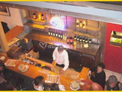 Le bar invités
