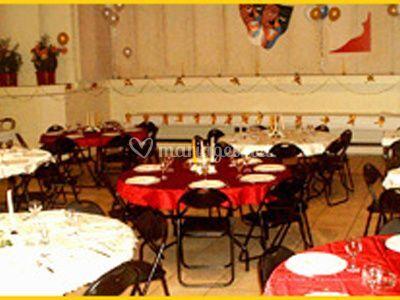 Grande salle tables