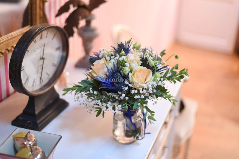 Bouquet en attente