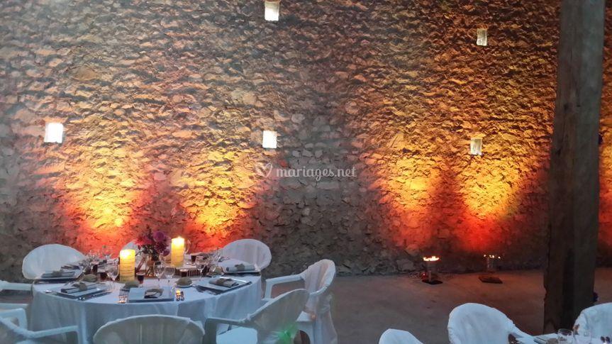 Éclairage décoratif salle