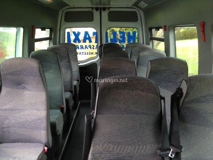 Intérieur 15 passagers