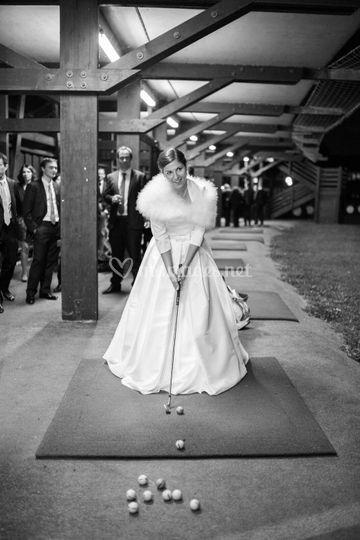 Mariée au practice