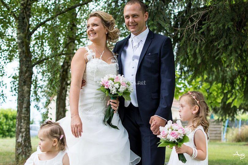 Couple de mariés 2016