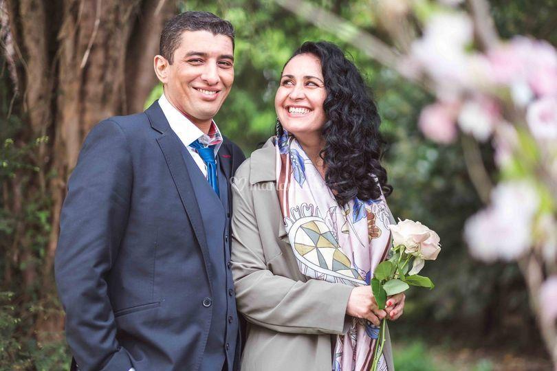 Couple de mariés 2019