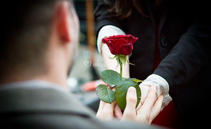 Demande en mariage paris