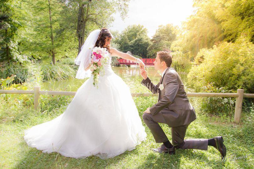 Le marié romantique
