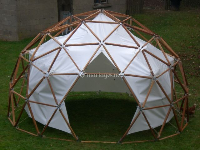 Dôme 12m² F3 en 5/8 de sphère