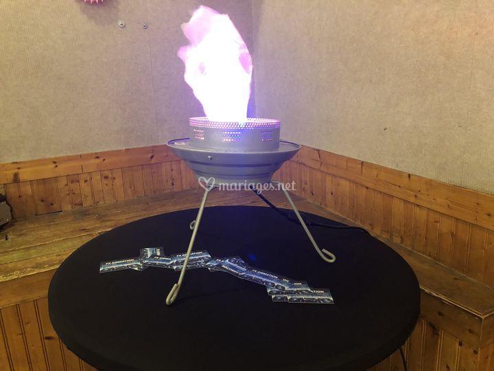 Flamme décorative