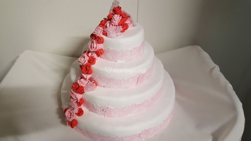Wedding cake personalisé