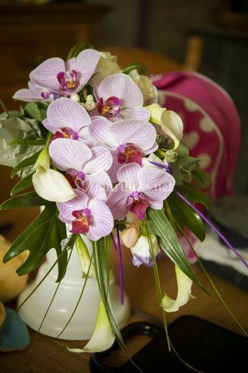 Bouquet orchidée