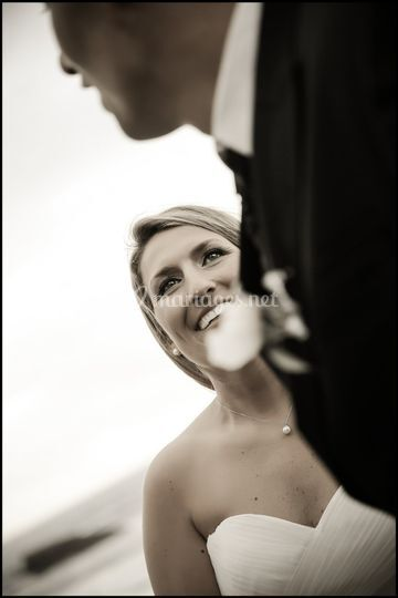 Mariée amoureuse