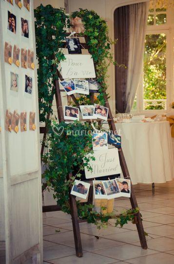 Prêt décoration et lierre
