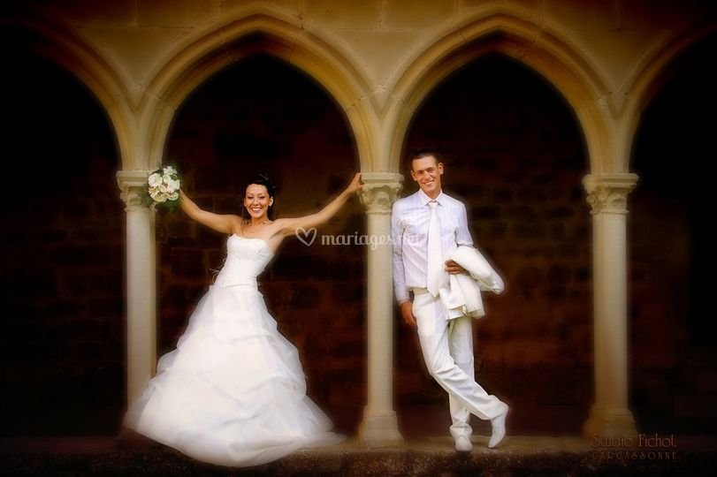 Studio Fichot - les mariés