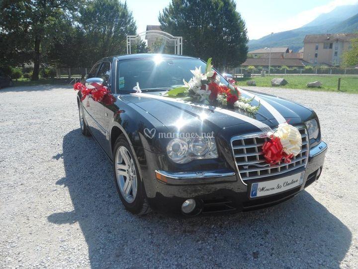 Chrysler 300 C noire