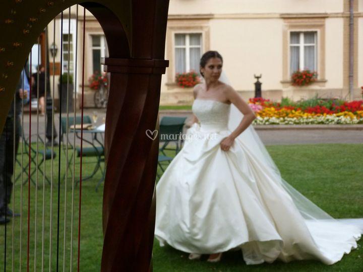 Avec la mariée