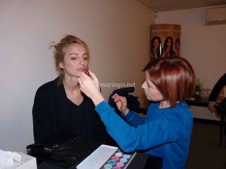 Maquillage actrice
