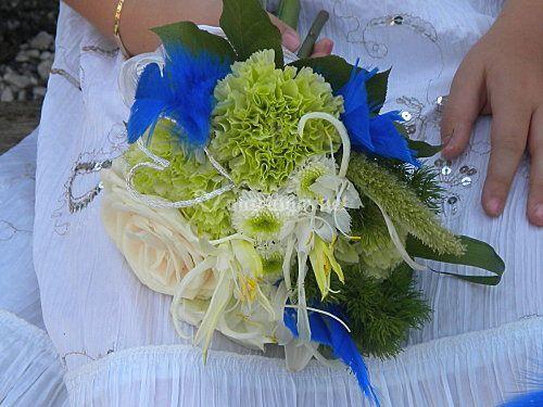 Bouquet fille mariage