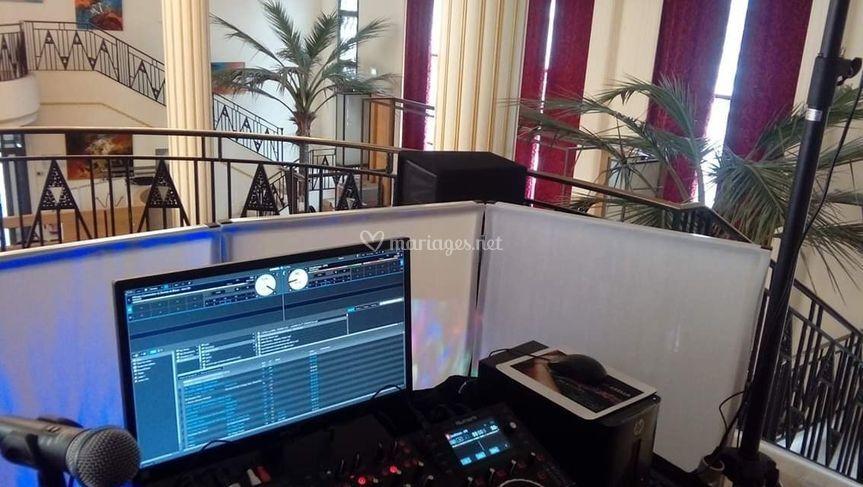 L'envers du décor DJ Abella
