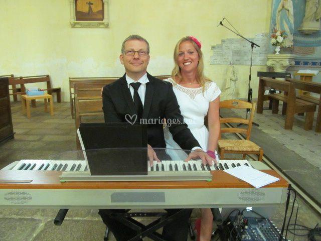 Un pianiste, une chanteuse