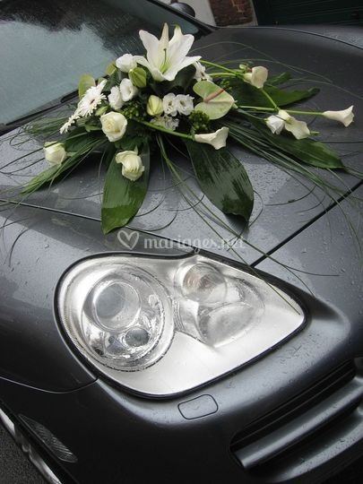 Détail décoration voiture