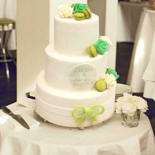 Gâteau glacé mariage