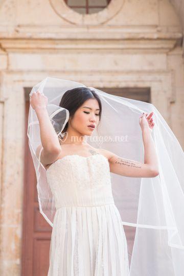 Portrait mariée - AGENCE 520