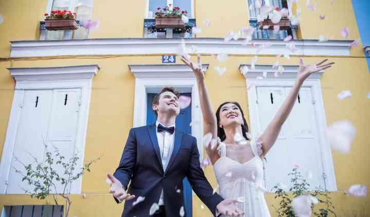 Pre-mariage - rue