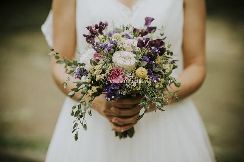 Le bouquet !