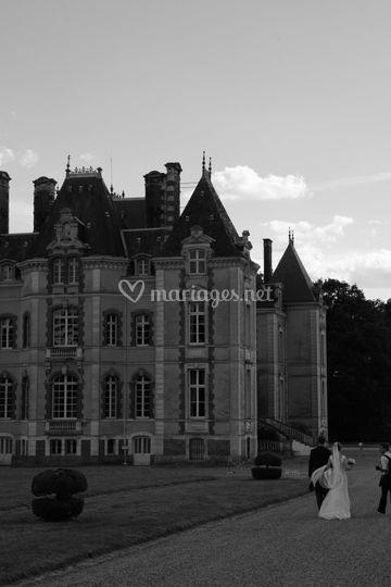 Le Chateau depuis la salle