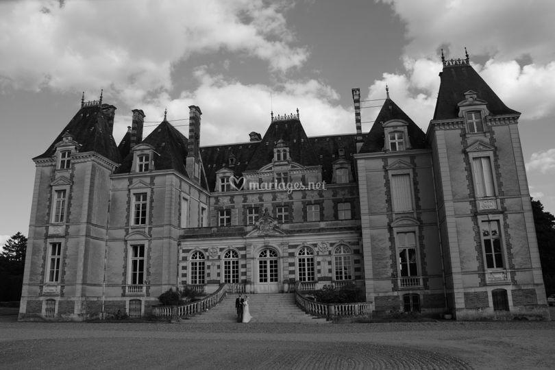 Le Chateau : facade principale