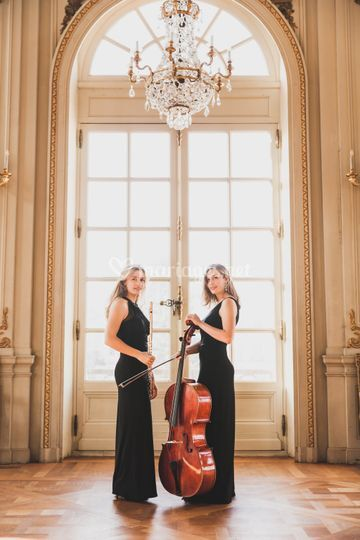 Duo flute violoncelle