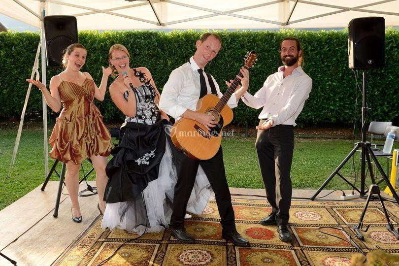 Les mariés font la musique !