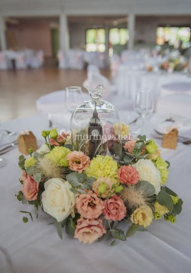 Mariage C&P - Centre de table