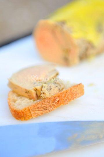 La découpe de foie gras