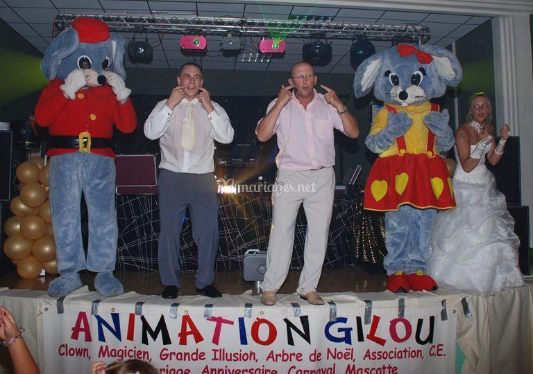 Animation Gilou