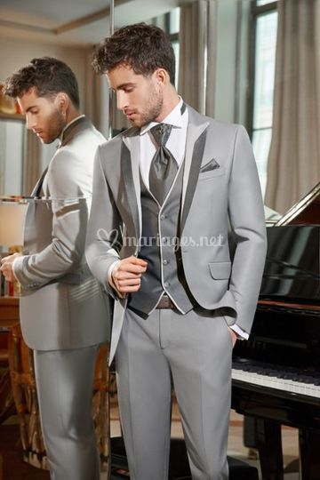 Costume mariage homme Sidney gris