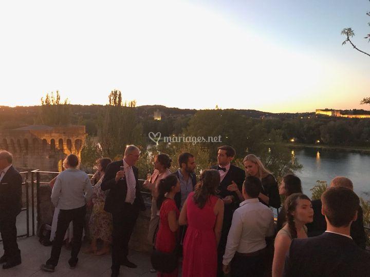 Cocktail  Pont d'Avignon