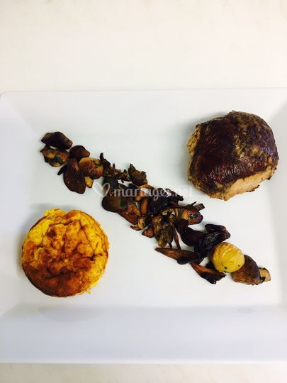 Moelleux canard foie gras